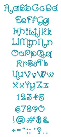 Aelia Embroidery Font is available for Instant Download at designsbyjuju.com