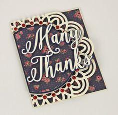 Many-Thanks-Doily-Edge-Card FREE SVG