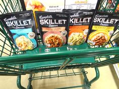 I'm going to have to try these Campbell's Skillet Sauces after seeing this!    The Mommyhood Chronicles  Sesame Chicken Stir Fry Over Rice  Love the Campbells Skillet Sauces