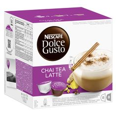 -in USA-Nescafe Dolce Gusto Chai Tea Latte- 16 capsules-