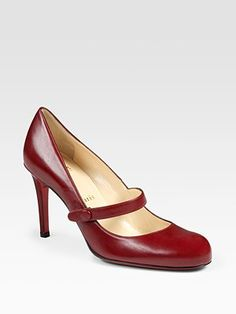 Christian Louboutin Wallis Mary Jane Pumps...oh, how I want these!
