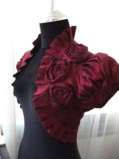 http://www.etsy.com/listing/62428017/burgundy-wine-bordeaux-silk-bridal