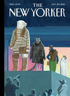 Bruce McCall, Catwalk cover for the New Yorker The New Yorker, New Yorker Covers, Borders Bookstore, Matisse Art, Magazine Art, Magazine Covers, Go To New York, Beautiful Cover, My Favorite Image