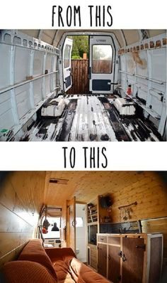 From Rusty Van To Cosy Home – DIY Camper