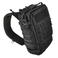 Sling pack made for a larger laptop. Maybe I won't have to carry my laptop bag AND MOAB 10