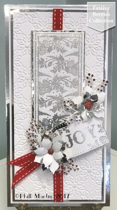 Hunkydory Premium Card Blanks Contemporary Christmas