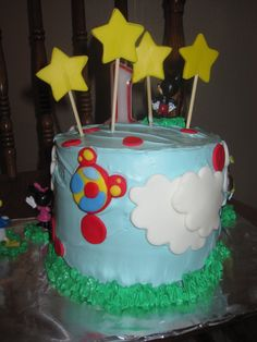 the back of the Mickey Mouse cake.