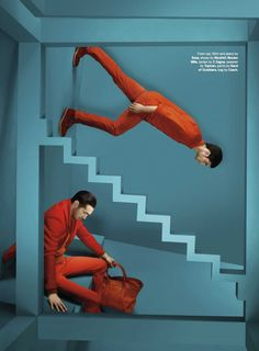 Eric Ramos & Nadav Heyman Wear Fall Colors for the September Issue of Details