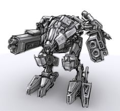 Just Another Mech by ~Jackson311 on deviantART