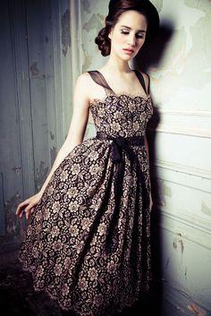 Dress by Lena Hoschek~Image by Lupi Spuma, 2012