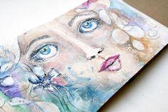 purplemailbox.com: Art. Paint. Journal. Play... Accordion Journal Update!