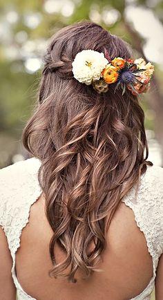 peinado novia hippie chic - Buscar con Google