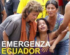 terremoto di magnitudo 7,8 ha colpito l'Ecuador.