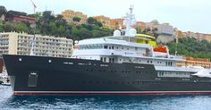 M/Y Yersin is the first yacht built by the Piriou shipyard in Brittany France in She is a steel hull ice class research vessel built for Me Fiat and his family. by yachtsoftheseas Motor Yachts, Brittany France, Super Yachts, Fiat, Monaco, Steel, Building, Luxury Yachts, Buildings
