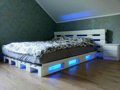 Die 60 besten Bilder von Paletten Bett | Bett, Möbel aus ...
