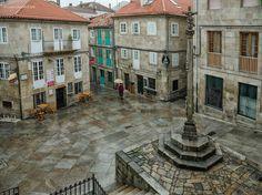 Plaza de las 5 calles. Pontevedra.