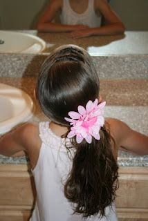 Flower Girl Hairstyles | Hairstyles, Braids and Hair Style Ideas | Cute Girls Hairstyles
