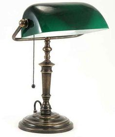 Bankers Desk Or Table Lamp