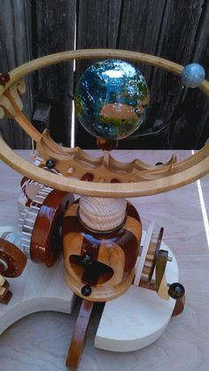 Collective Daydream - wooden automata / orrery https://www.facebook.com/planetarymotion?ref=hl