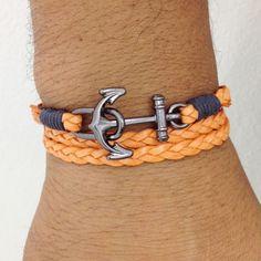 Mens Bracelets anchor