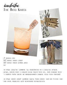 Signature Drink Series: Gin #wedding