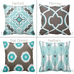 Hey, I found this really awesome Etsy listing at https://www.etsy.com/listing/182689266/bogo-grey-brown-and-teal-geometric