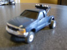 Custom ERTL F-350 with M2Machines Studebaker Tow bed.