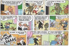 Viñetas de la historieta «El Robot de Mortadelo» de Francisco Ibáñez. Originalmente aparecíó el 13 de Junio de 1964. Posteriormente fue recopilada en el Super Humor nº 21 (Ediciones B, 1995 1ª e. y 1997 2ª e.).