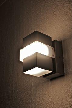 LED Wall Lamp - Box Light by Hadeda on Etsy