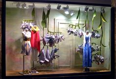 VM | Window Visual Merchandising | VM | Window Display | ChelseaMarketNewYork Anthropologie