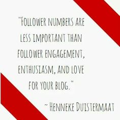 Numbers isn't everything. Engagement level is more vital. Have great followers (lesser numbers) are better than having followers who are totally inactive.  #followers #socialmedia #success