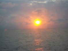 Sunset from the Carnival Fantasy