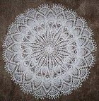 Nina's At My House: Free Crochet Patterns Doilies - Pineapple Doily (P)