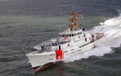 The 154 feet 'Bernard C. Webber' is the first Fast Responds Cutter out of a series of 58 vessels that have all been named after fallen US Coast Guard heroes.
