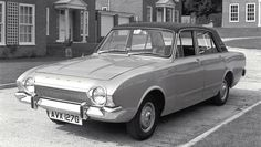 """1969 Ford Corsair 2000E. Having had immense success with the Cortina 1600E, Ford attempted to make the slow selling Corsair more attractive by producing an """"executive"""" model"""