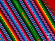 Bright Textile, Ixcel Textile Co-op, San Antonio Aguas Calientes, Guatemala Photographic Print by Cindy Miller Hopkins at Art.com
