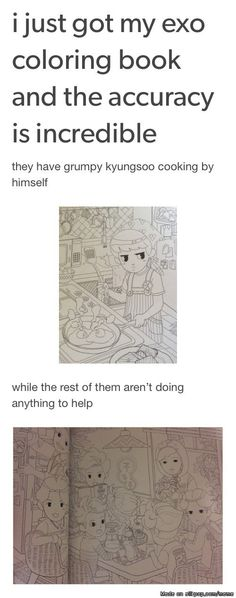 lol poor kyungsoo   allkpop Meme Center OKAY I WAS NOT INFORMED OF THIS COLORING BOOK.