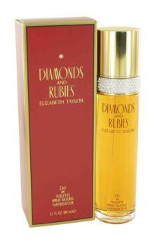 Diamonds  Rubies Perfume by Elizabeth Taylor, 100 ml Eau De Toilette Spray for Women - from my #perfumery