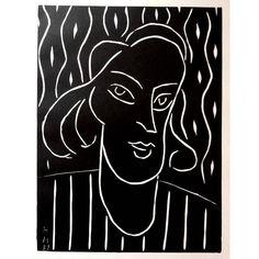 Henri Matisse - Original Linocut - Henri Matisse - Teeny | 1stdibs.com