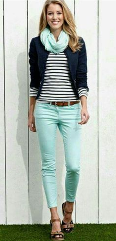 LOVE the color and style of these pants