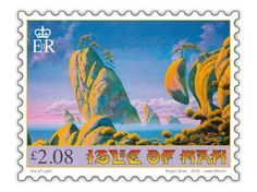 Oh Yes: Roger Dean designs stamps for Isle of Man Post Office - Creative Review