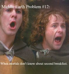 Lord of the Rings meme - Middle Earth Problems