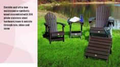 Adirondack ottoman wood - Woodworking Challenge Adirondack Furniture, Outdoor Furniture Sets, Outdoor Decor, Woodworking Wood, Ottoman, Challenges, Home Decor, Decoration Home, Room Decor