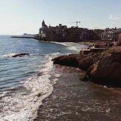 Sitges, Barcelona, Historical Sites, Beautiful, Beach, Water, Places, Instagram Posts, Outdoor