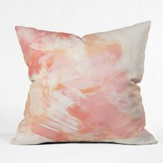 Found it at Wayfair - Chelsea Victoria Flamingo Watercolor Outdoor Throw Pillow