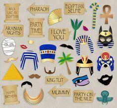 35 Ancient Egyptian Party Props Egypt party por YouGrewPrintables