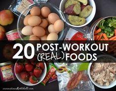 best post workout meals