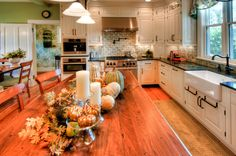 Cottage style on a kitchen remodel for a historic 1800s home in ...