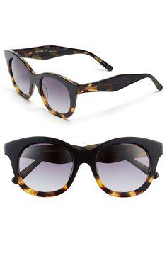 kensie 'Callie' 49mm Cat Eye Sunglasses