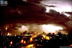 Tornado over Atlanta